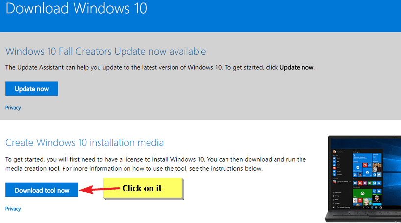 download windows 7 installation media creation tool